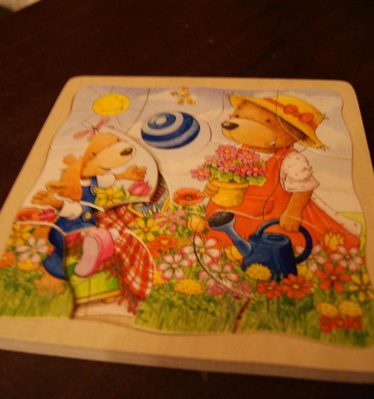 Развиваем дома: домашний puzzle