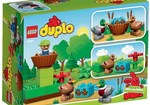 Первое задание пасхального конкурса выполнено. LEGO FOREST DUCKS отправляется к...
