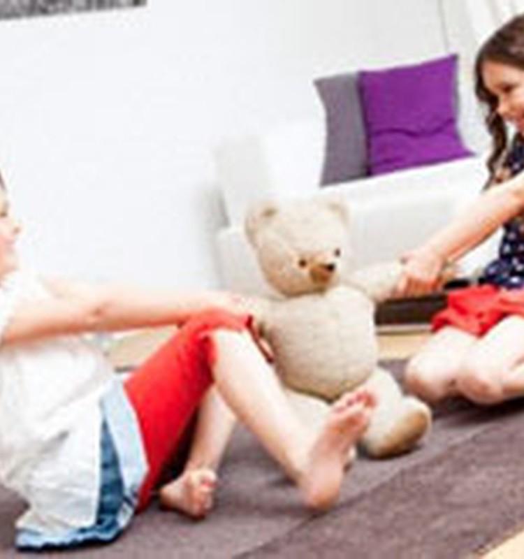 Как научить ребёнка делиться?