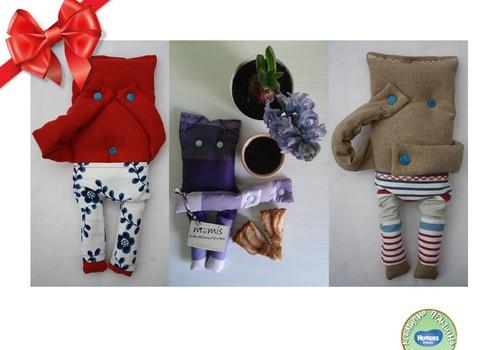 Праздничный каталог подарков Huggies®: Милый, стеснительный Мумис