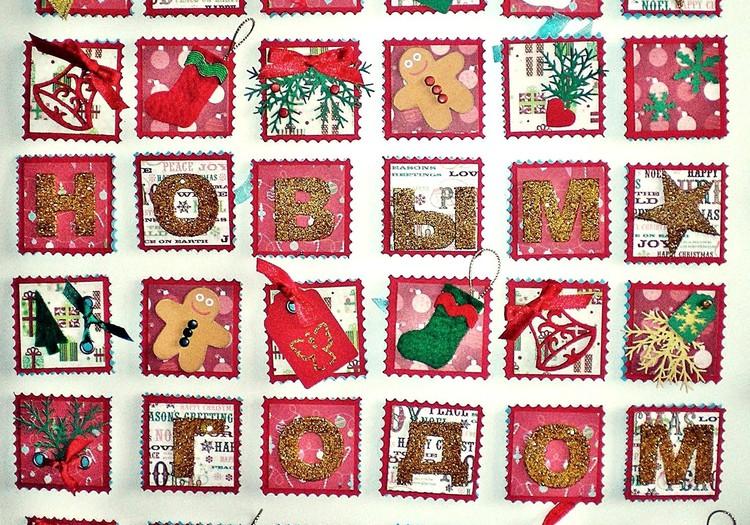 Календарь своими руками – отличный новогодний подарок!