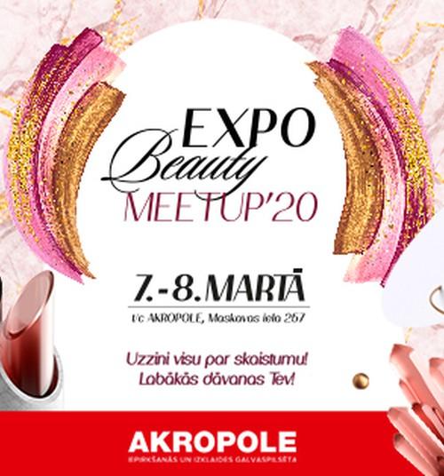 7 - 8 марта в Риге пройдет выставка красоты EXPO BEAUTY MEETUP 2020