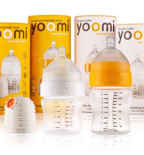 НОВИНКА: Самонагревающиеся бутылочки yoomi теперь и в Латвии