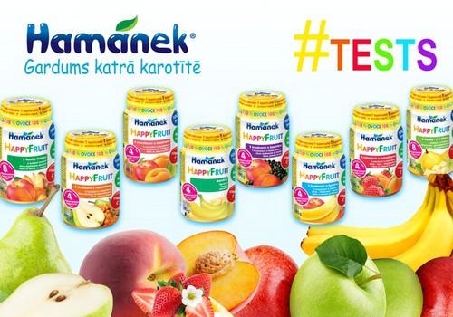 Приглашаем тестировать фруктовые пюре Hamanék ® - лакомство в каждой ложечке!