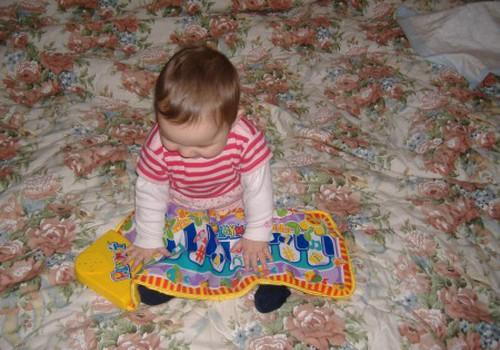 В каком возрасте ваш малыш научился ходить?