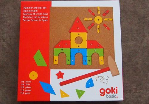 Игротека: GOKI Hammer and nail set