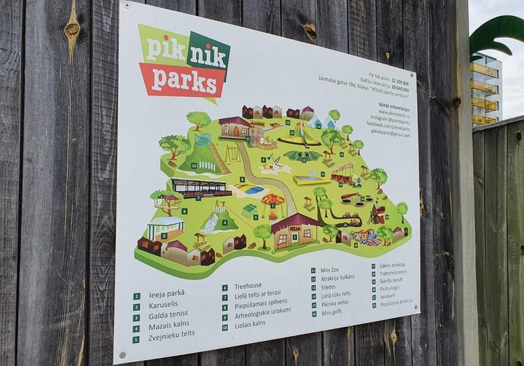 Парк аттракционов и мини-зоо PIK NIK в Иманте