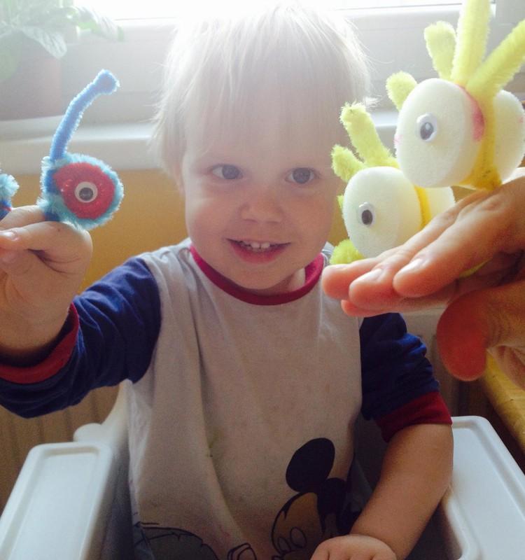 Веселые поделки: главное, чтоб ребенок улыбнулся