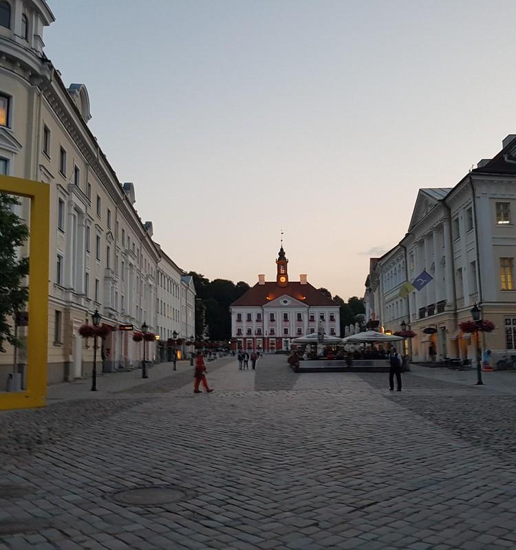 И мы посетили город Тарту