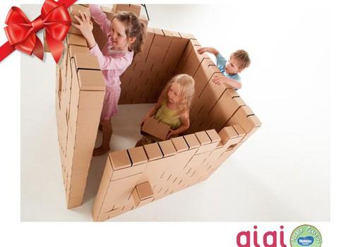 Праздничный каталог подарков Huggies®: GiGi Bloks для маленьких и больших строителей!