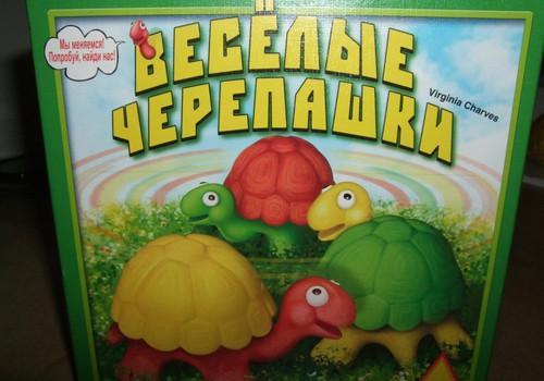 """РУБРИКА """"ИГРОТЕКА"""": Весёлые черепашки от Virginia Charves"""