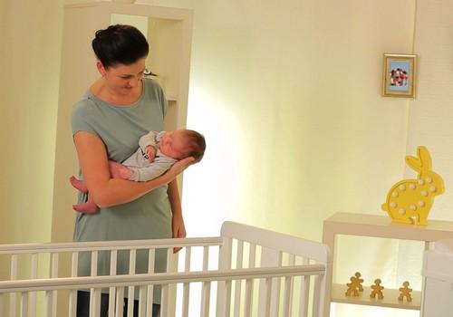 Как обустроить кроватку малыша?