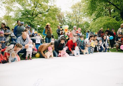 Соревнования маленьких ползунков на вечеринке 20 августа в 13:00!