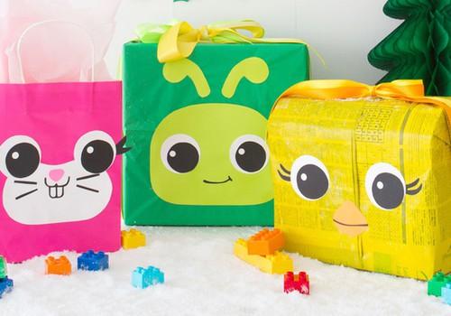 Упакуй подарок с LEGO® DUPLO® интереснее!