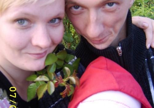 Лена и Андрей, с Днем свадьбы вас!!!