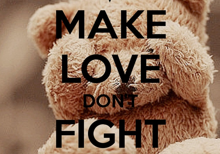 №24 ДИАНА: Make love don't fight!