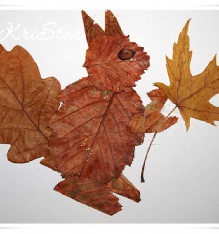 Осенний гербарий как познавательная игра. Поиграем?