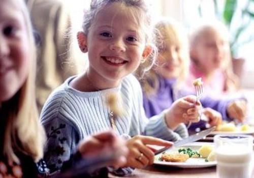 Бесплатное питание в детских садах