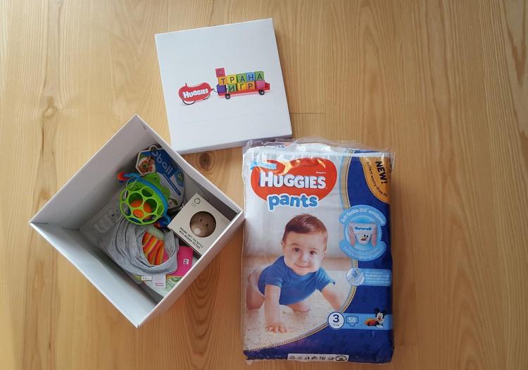 Huggies Gift Box: первые впечатления