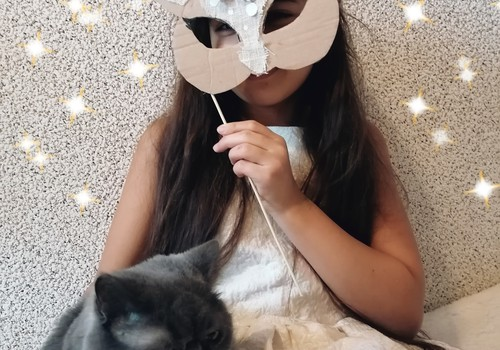 Новогодний маскарад: делаем маски!