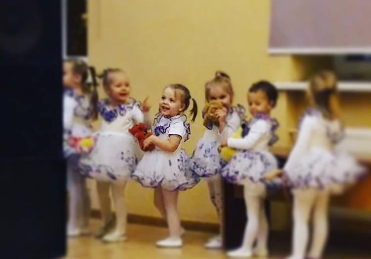 ДОШКОЛЬНИЦА АМИНА: Балерина