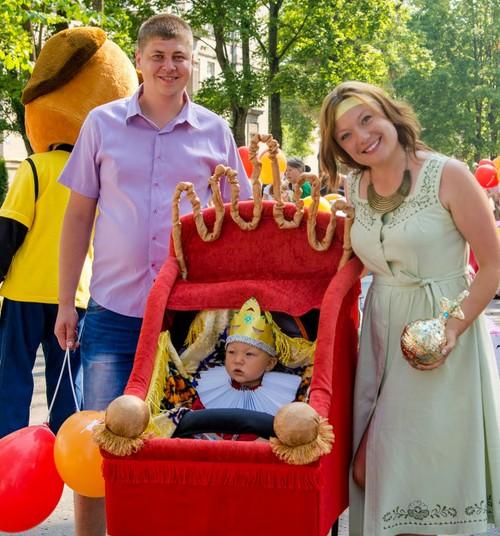 Спешите зарегистрироваться и принять участие в первом Параде семей в Резекне!