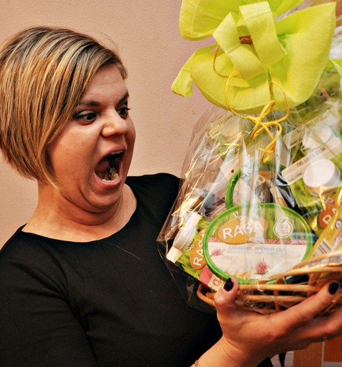 Как приятно получать подарки