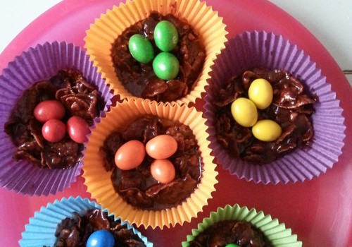 Шоколадные гнёзда