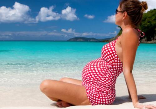 Уход за кожей будущей мамочки летом