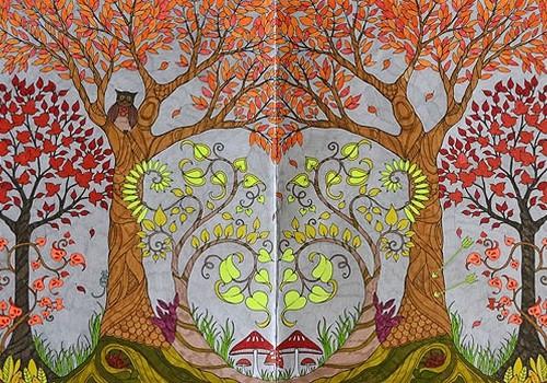 АНТИСТРЕСС РАСКРАСКИ: Радужные лабиринты и волшебные деревья