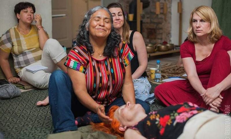 12 - 14 сентября визит популярной мексиканской акушерки Анхелины Мартинез Миранды в Ригу