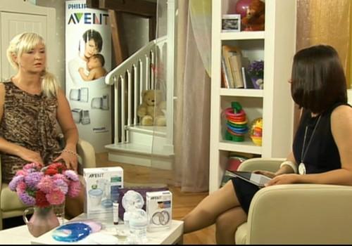 ONLINE-ТВ: разговор с Элитой Сварениеце о кормлении грудью