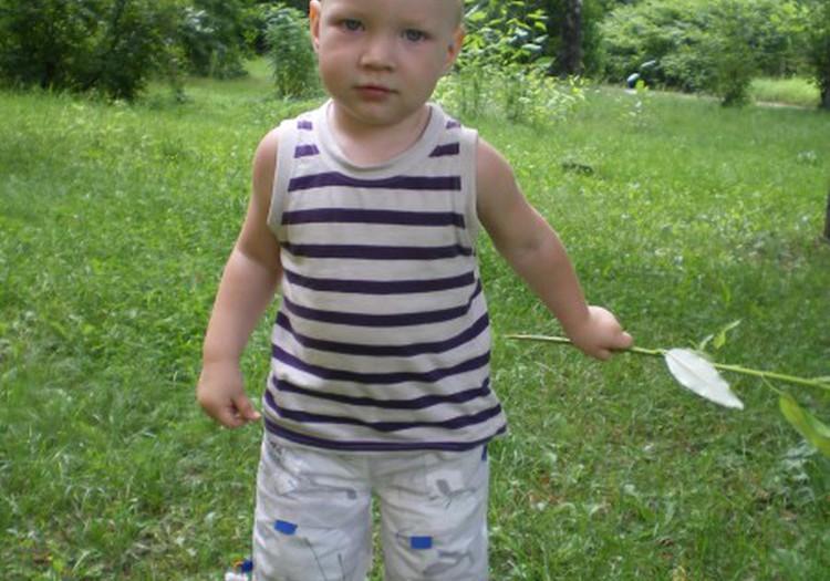 Моему любимому сынишке полтора годика!