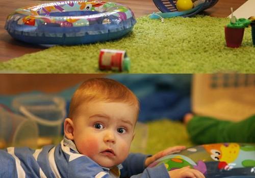 Развивающие игры с физиотерапевтом Кристиной Сталидзане для деток с 8 до 9 месяцев и для деток с 6 до 7 месяцев