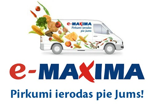 Продукты на дом: e-maxima