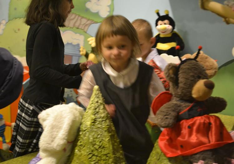 Арианна, Лёша и Лика в Galleria Riga