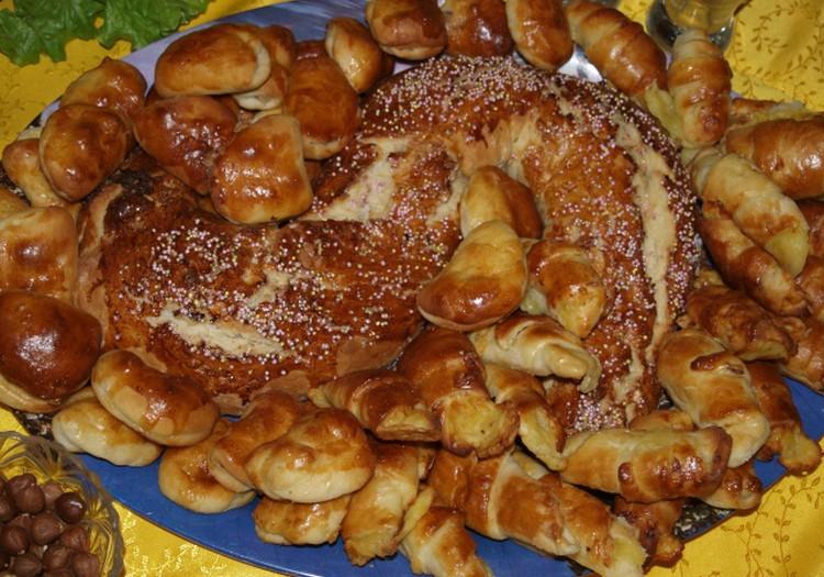 Пирожки со шпеком на Рождество