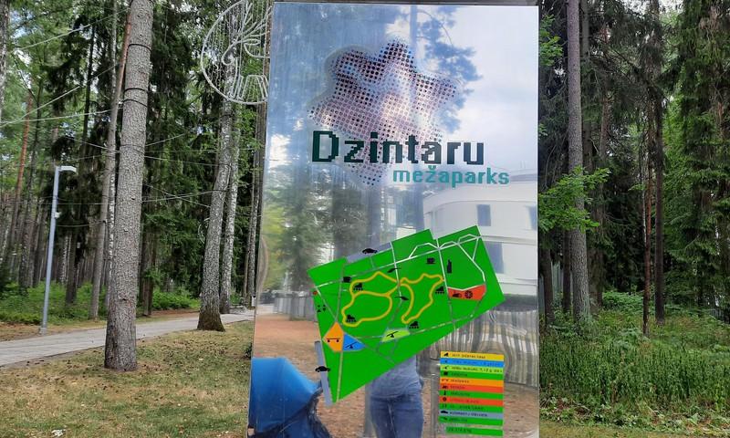 Дзинтарский лесной парк