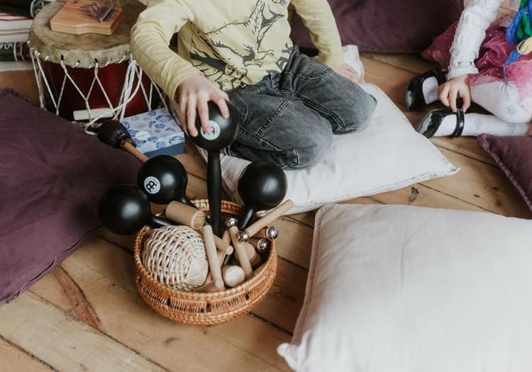 """По вторникам - музыкальные развивающие занятия для малышей 1.5 - 3 лет """"Skaņu aplis""""! Есть свободные места на 19 и 26 марта!"""