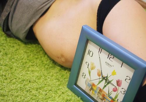 Откуда во время родов возникает боль?
