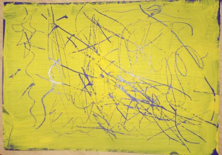 Рисуем царапая или а-ля граттаж для начинающих