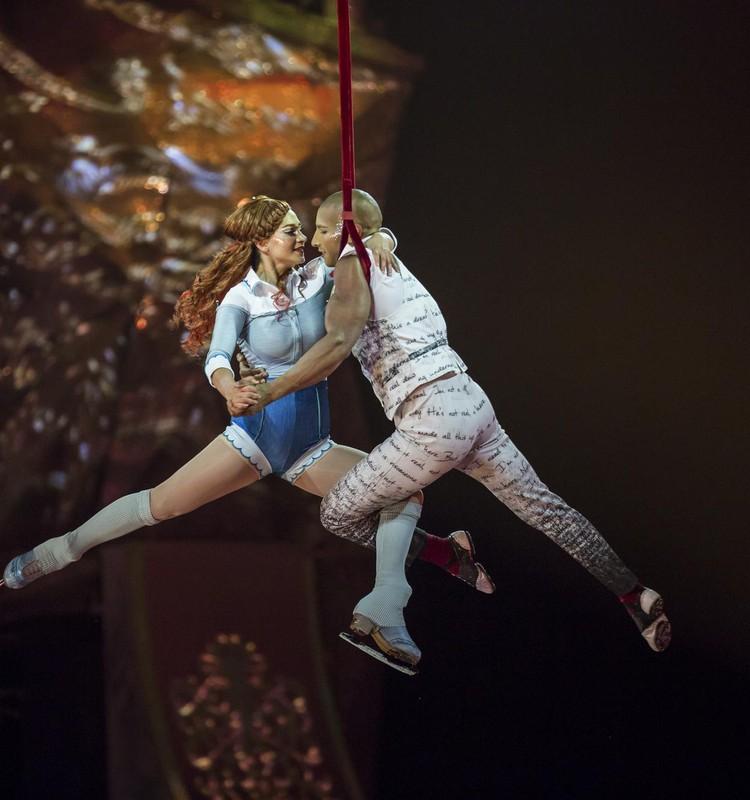 Знаменитый канадский цирк Cirque du Soleil - в январе в Риге!