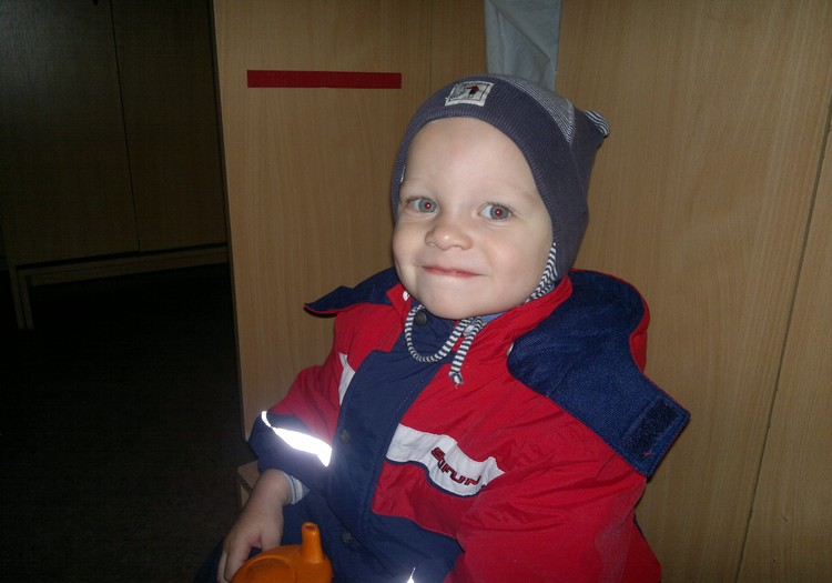 Детсадовец Артём: Беспокойные выходные и небольшие травмы из садика