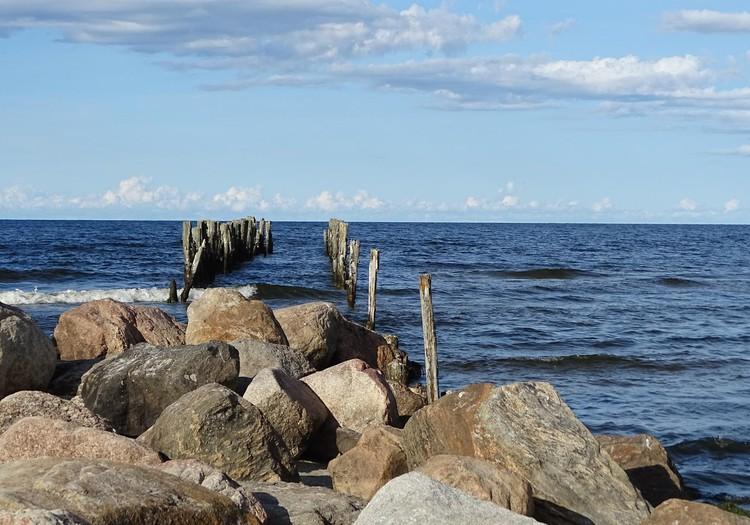 Купскалнский природный парк - отлично для прогулки по пляжу и отдыха у моря