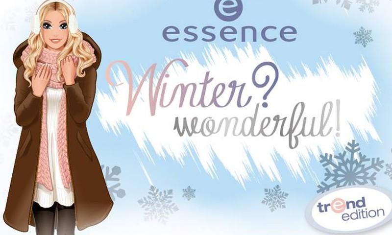 "Новая серия essence ""winter? wonderful!"""