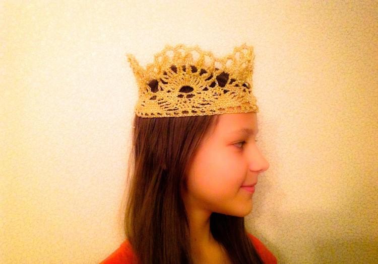 Я-совершенство: Корона крючком в подарок
