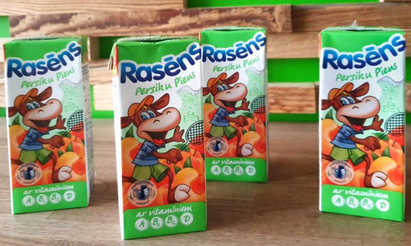 """В ассортименте """"Rasēns"""" новинка — персиковое молоко"""