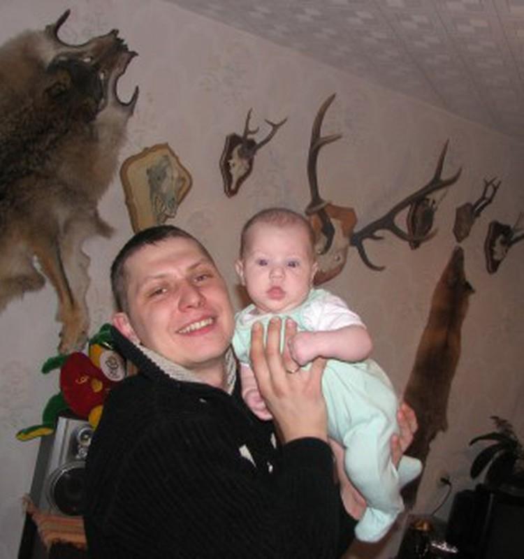 Ульянка с любимым папочкой!