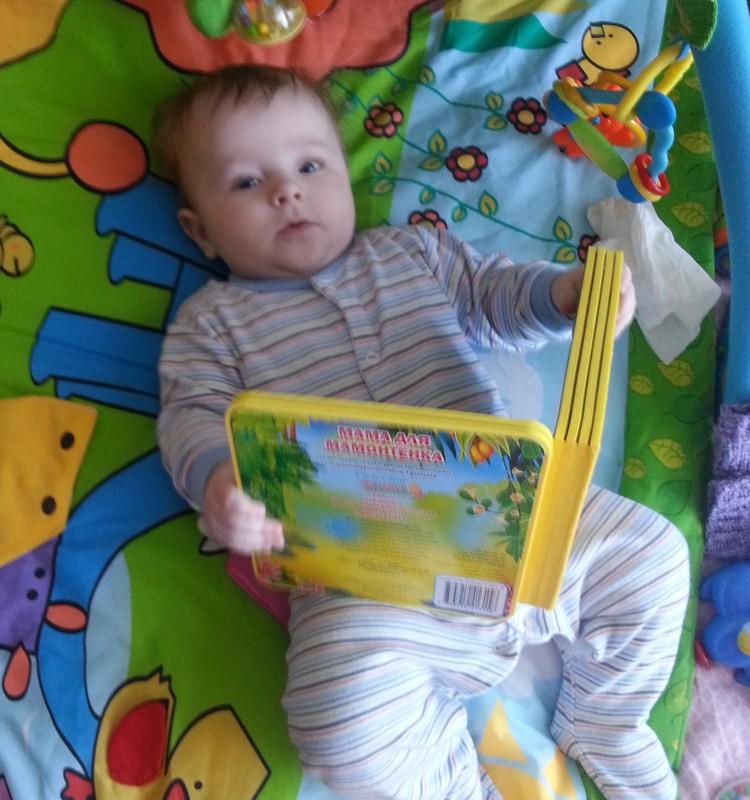 Как мы привили сыну любовь к чтению +наш список книг для самых маленьких и деток постарше