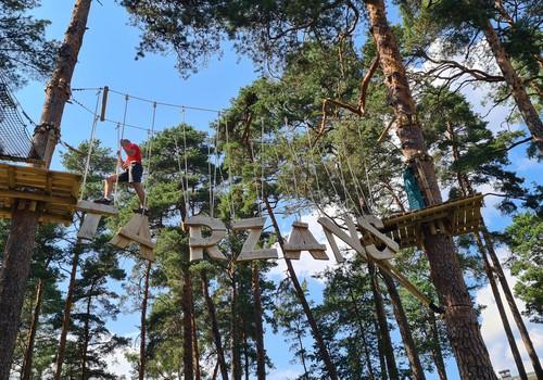 Латвийские каникулы: Юрмальский Тарзан